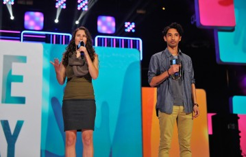 from WeDay 2014, with Natasha Huey
